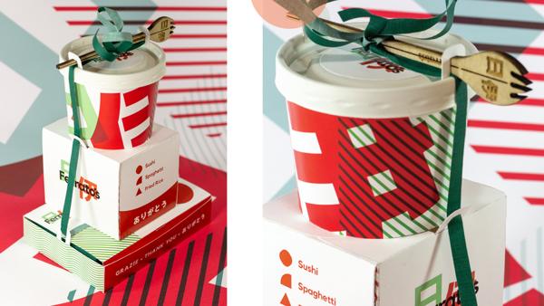Ferrato's Italian & Japanese Fusion sustainable packaging