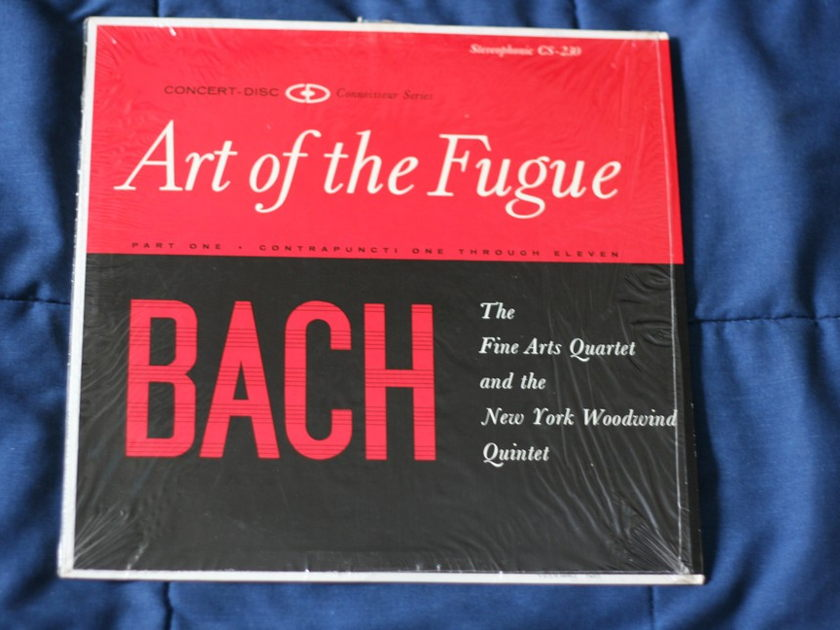 Bach  - Art of the Fugue Stereophonic CS-230