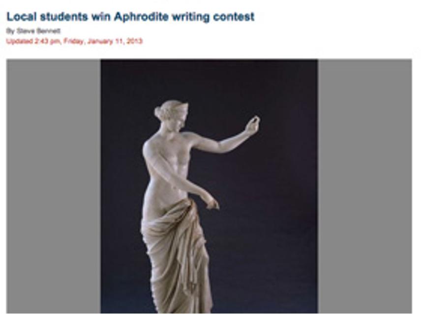 Writing, Aphrodite