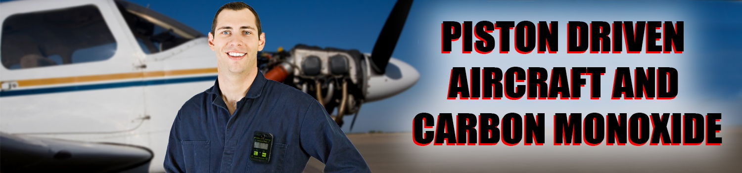 carbon monoxide aviation air planes piston driven aircraft poisoning levels safety