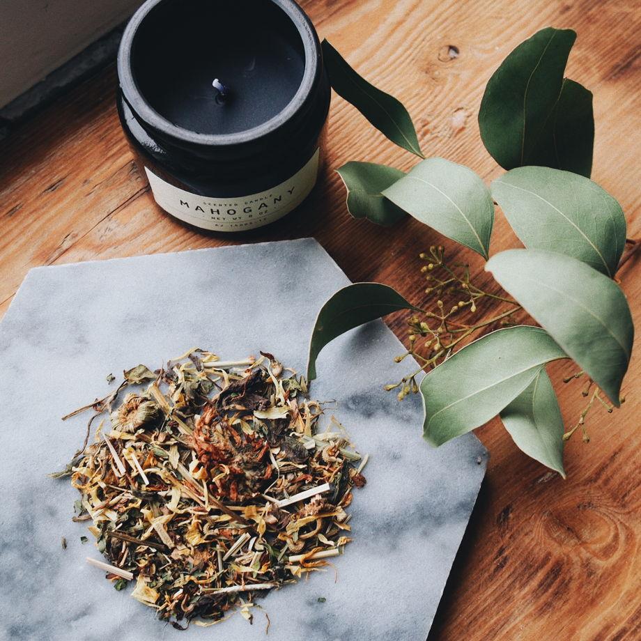 Натуральный травяной чай