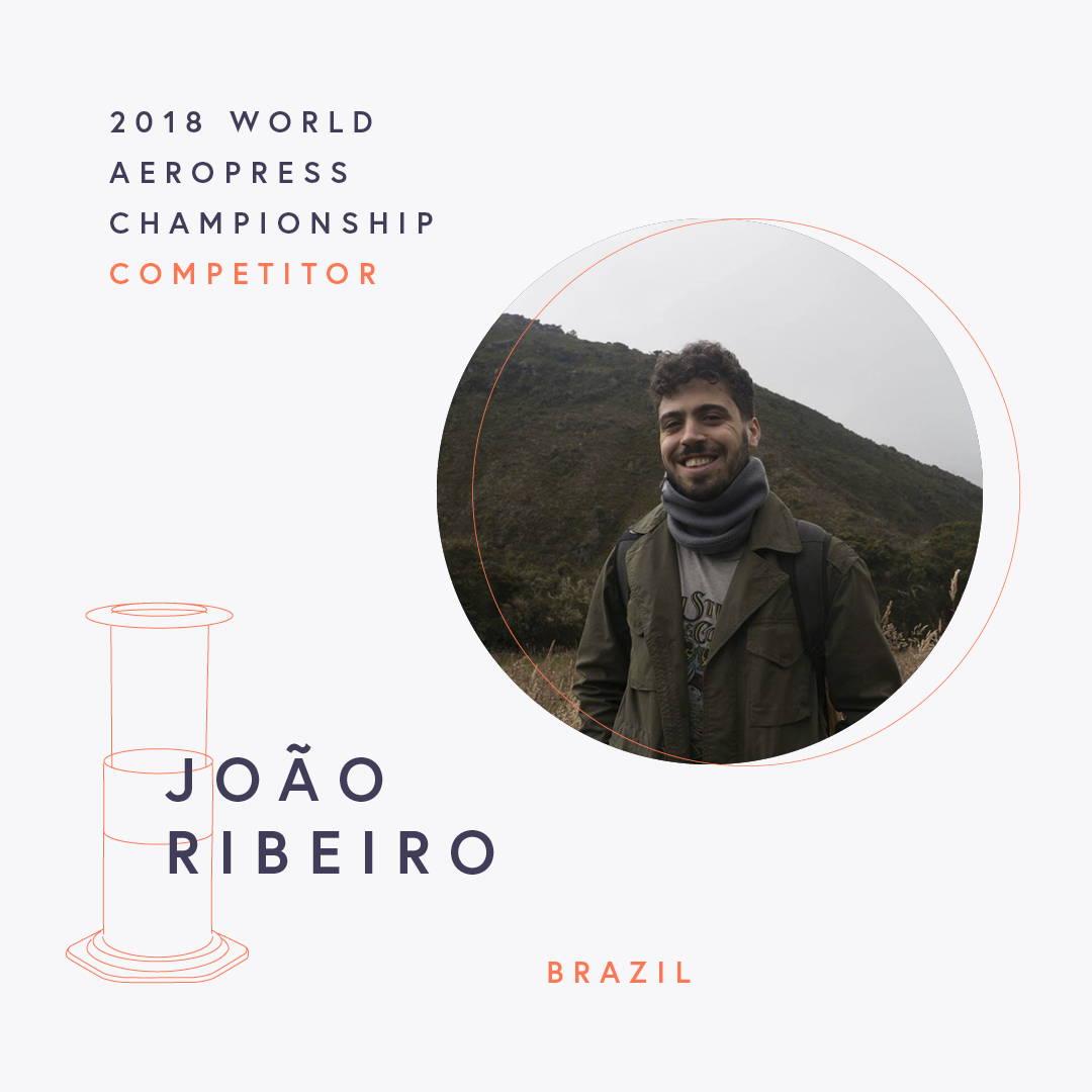 The World AeroPress Championships: João Vitor Ribeiro