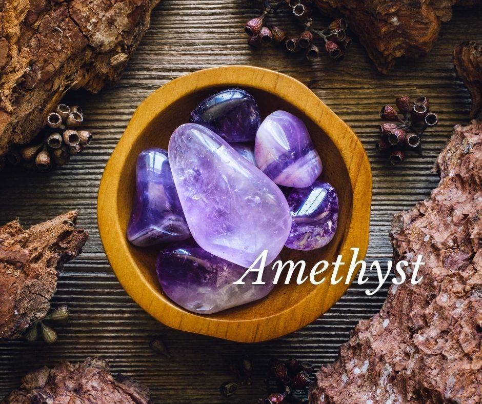 Edelstein für den Steinbock - Amethist