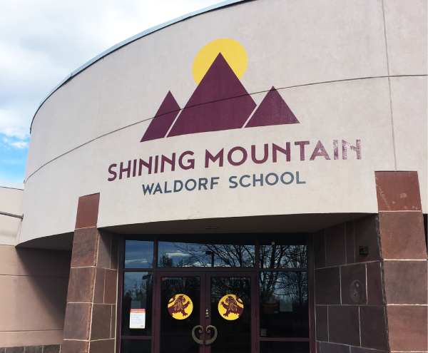 Spot Graphics - Shining Mountain Waldorf School Wall Wrap