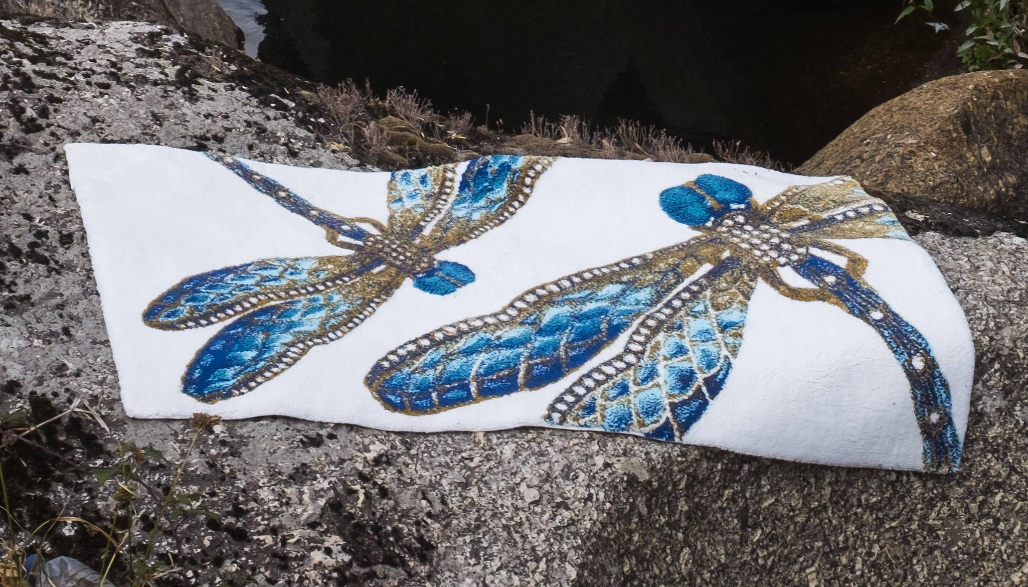 Habidecor Felitsa Dragonfly Bath Rug