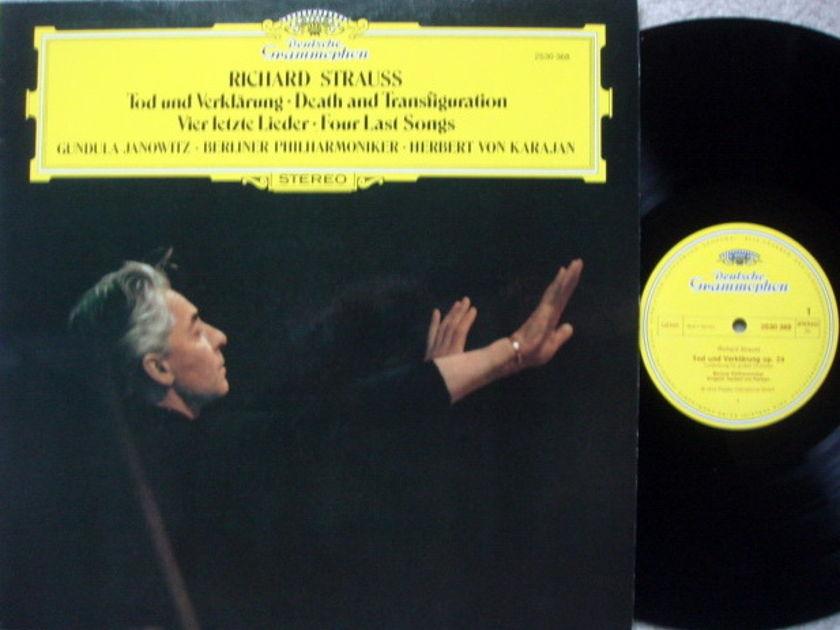 DG / R. Strauss Death and Transfiguration, - KARAJAN/BPO, MINT!