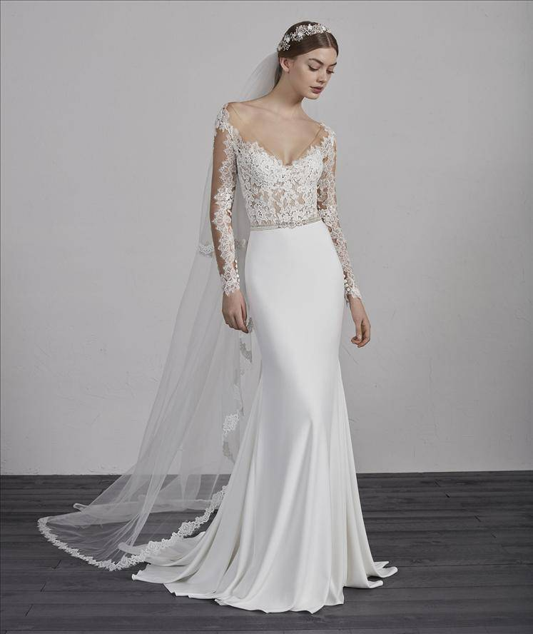 PRONOVIAS EMY WEDDING DRESS
