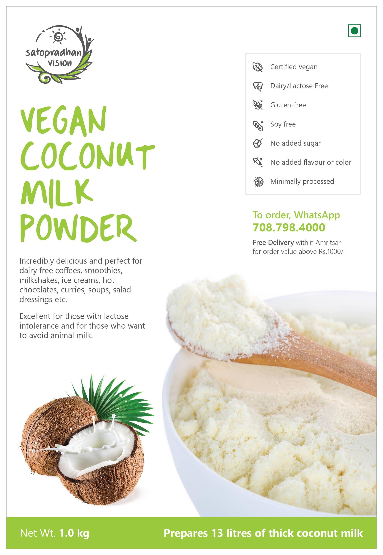 Coconut Milk Powder Fact Sheet