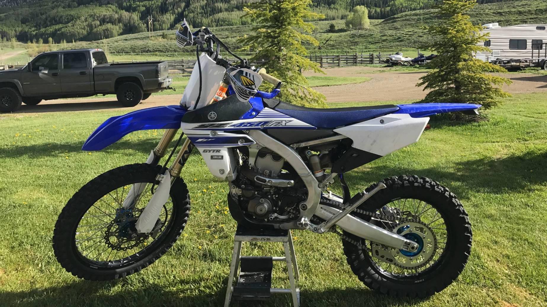 Yamaha Yz450fx For Rent Near Gunnison Co Riders Share