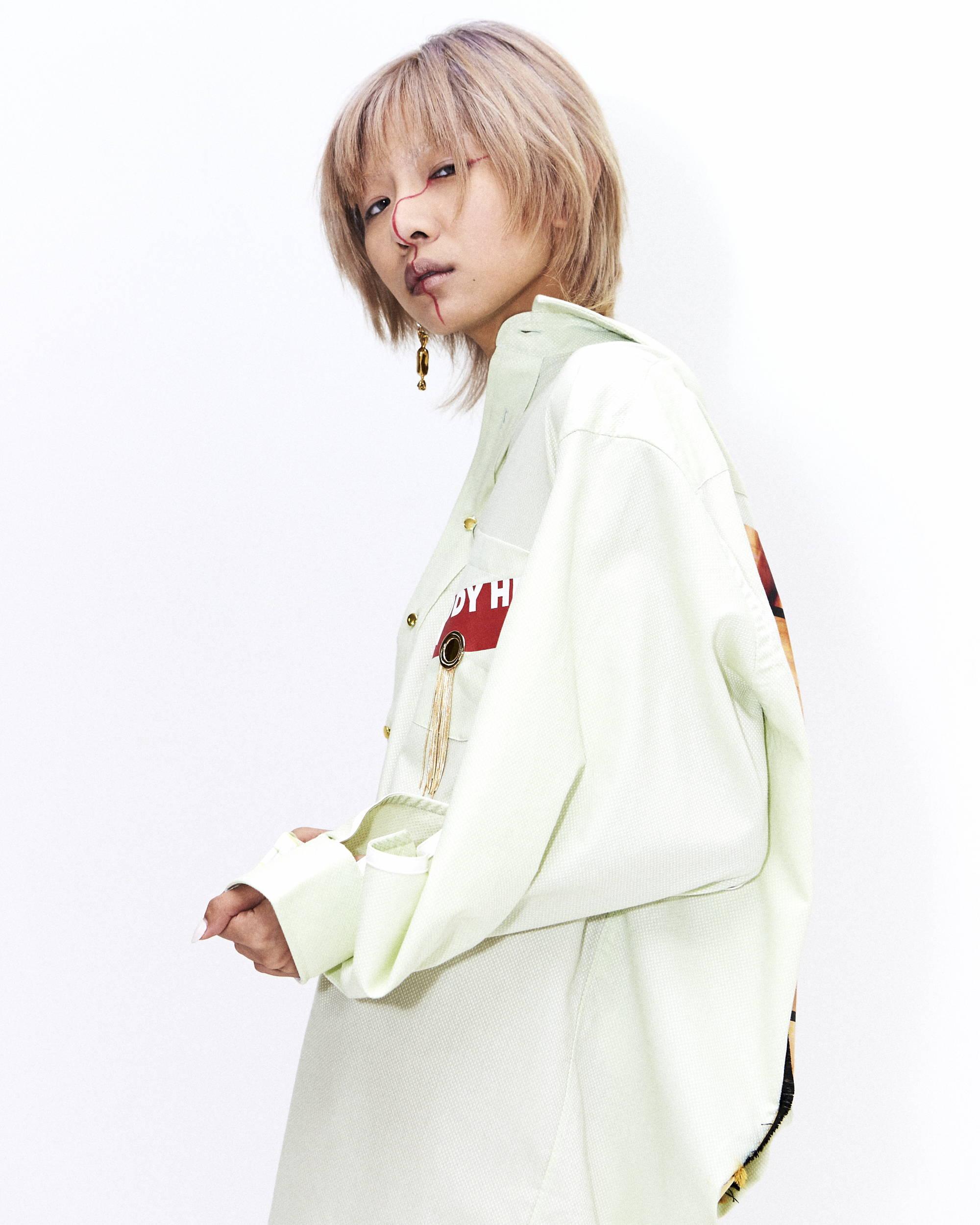 Han Wen Printed Shirt SS18 - Hlorenzo