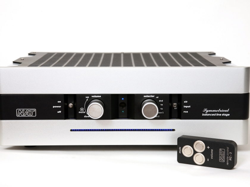 Nat Audio Symmetrical Tube preamplifier ( stereophile recommended)