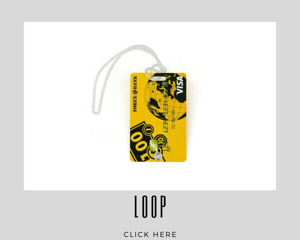 Custom Corporate Loop Luggage Tags