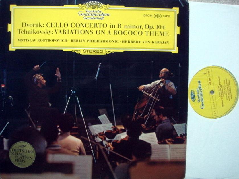 DGG / ROSTROPOVICH-KARAJAN, - Dvorak Cello Concerto, EX!