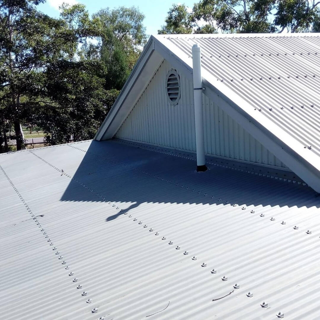 Before Roof Restoration