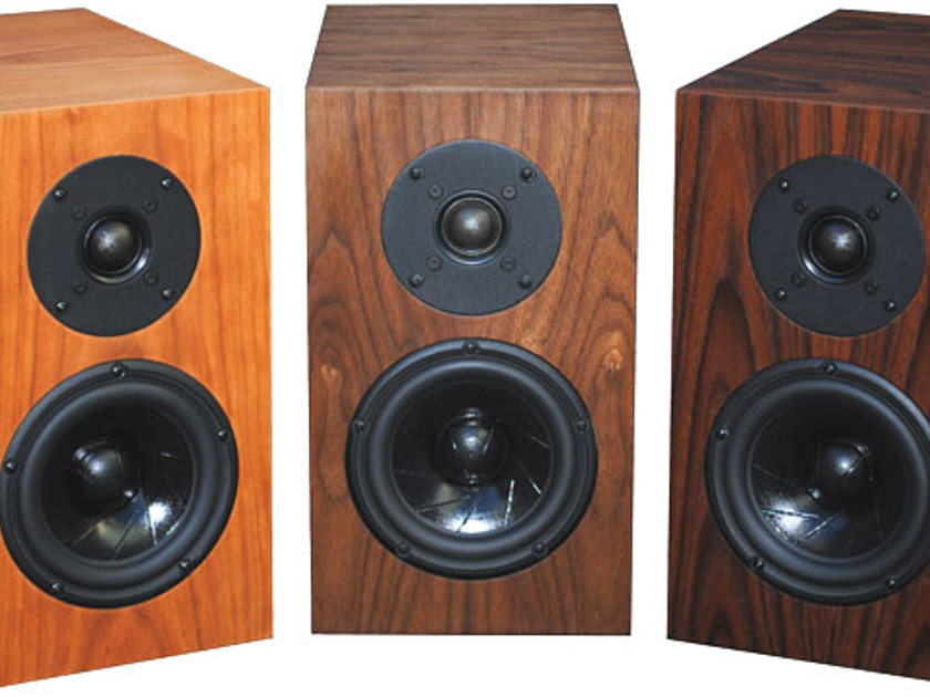 FRITZSPEAKERS REV 5 ScanSpeak monitors with series crossovers in custom cabinets