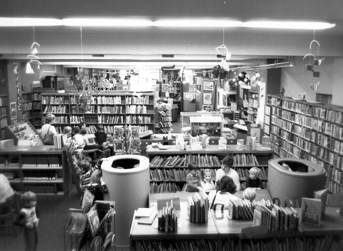 Library in the 1980s