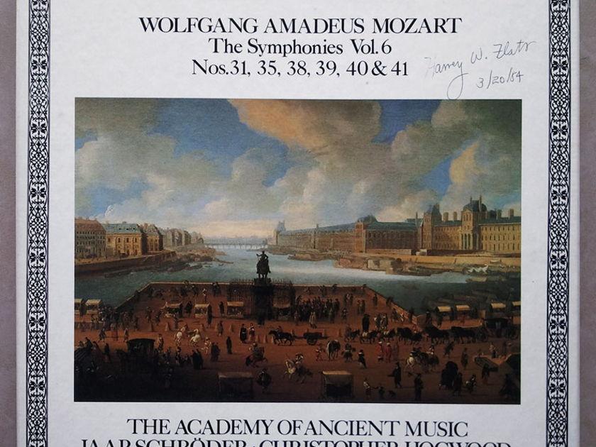 Decca L'Oiseau-Lyre/Hogwood/Mozart - Symphonies Nos. 31, 35, 38, 39, 40, 41 / 4-LP box set / NM