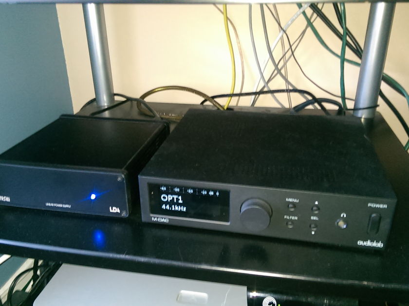 Audiolab M-DAC with upgraded linear power supply