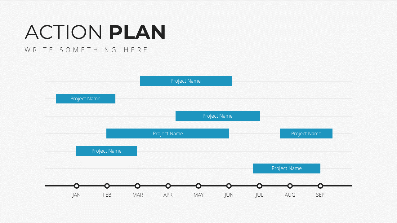 Minimal X Project Proposal Presentation Template Project Strategy