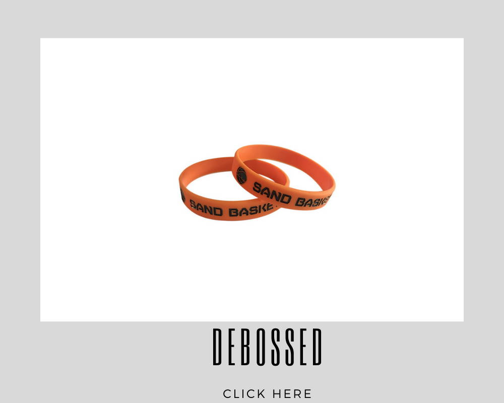 Corporate Custom Debossed Wristband