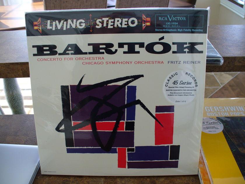 Classic Records 45rpm - Bartok's Concerto for Orchestra
