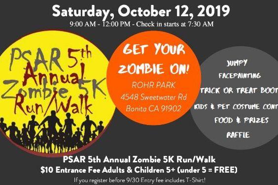 ZOMBIE 5K Run/Walk - zombie4.eventbrite.com to register