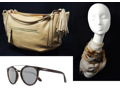 LOOKING VERY CHIC! Designer Handbag, Handmade French Inspired Scarf, Elegant Sunglasses and Hip Earrings!
