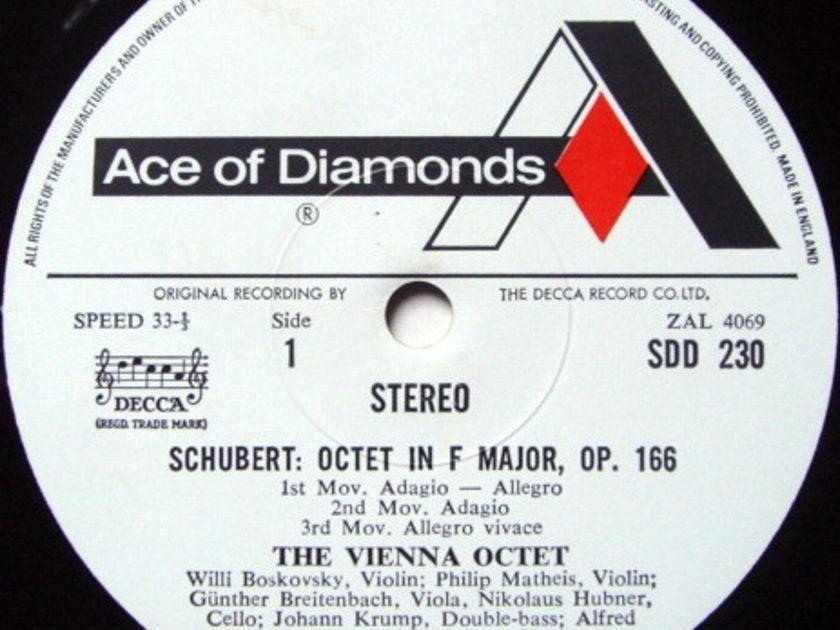 DECCA SDD / VIENNA OCTET, - Schubert Octet in F, NM!