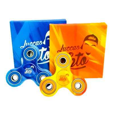 Kit Hand Giro Spinner Luccas Neto com 2 unidades