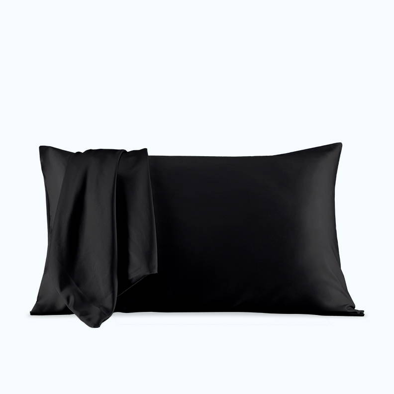 sleep zone bedding website store products collections pillow pillowcase satin pillowcase dark gray grey