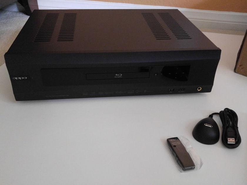 Oppo BDP-105 Blu-Ray Disc Player - Warranty!