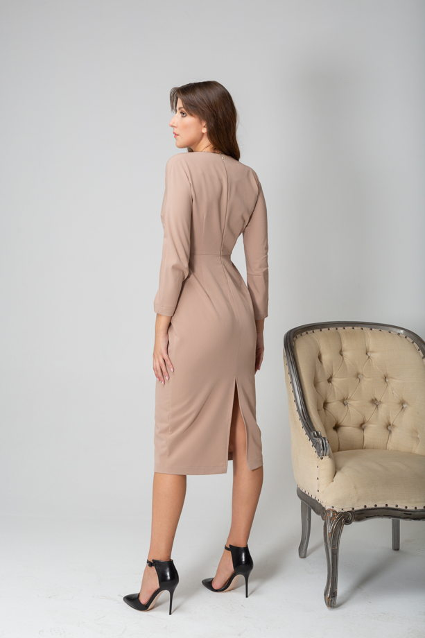 Платье с разрезом арт. 3183009