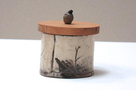 Банка керамическая Wood & Stone