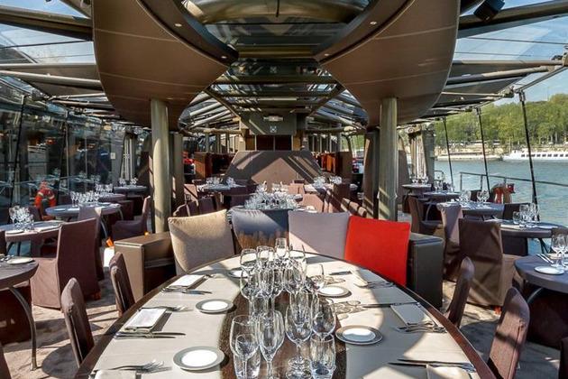 Обзорная экскурсия по Парижу плюс ужин на кораблике  с круизом по Сене