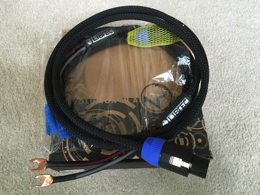 Zu  Libtec 8' speaker cables