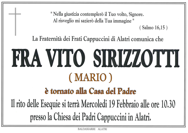 Fra Vito Sirizzotti