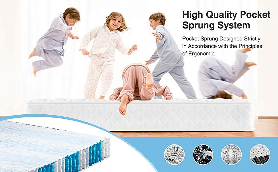 homylink pocket sprung mattress