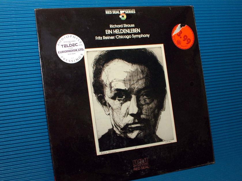 """R. STRAUSS / Reiner  - """"Ein Heldenleben"""" - RCA .5 Audiophile Series 1981 SEALED"""