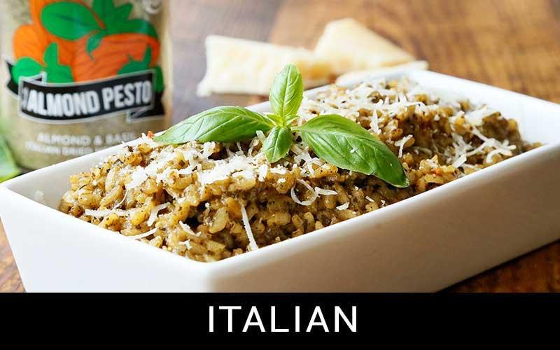 italian inspiration button