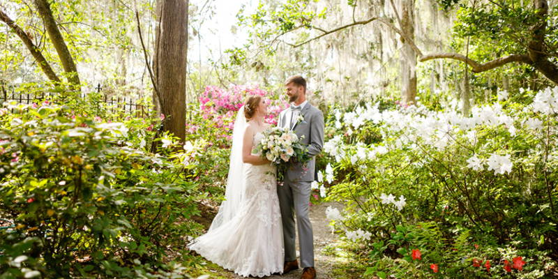 A Garden Wedding, Inside and Out