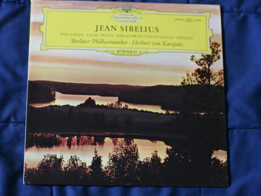 Jean Sibelius - Berliner Philharmoniker 139016 SLPM