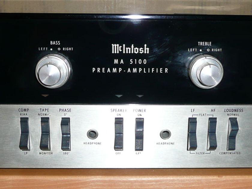McIntosh MA-5100 Pre-amp/Amp Combo