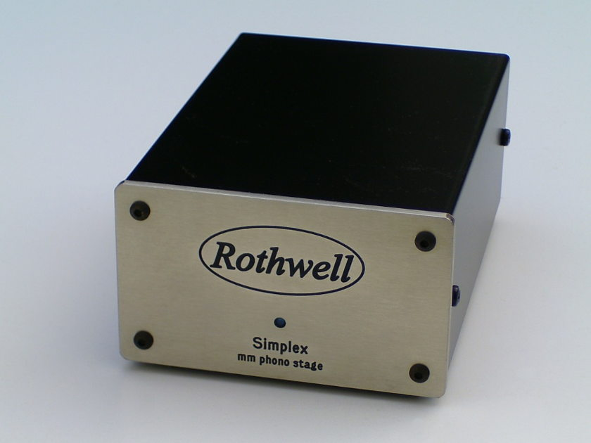 Rothwell Simplex MM Phono Stage Amplifier New In Box