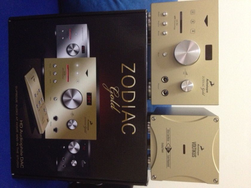 Antelope Audio Zodiac Gold +Voltikus Separate Power Supply