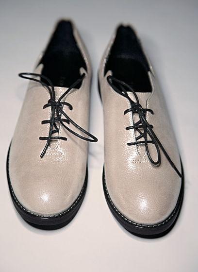Туфли Волна из натуральной кожи пудрово-розовые