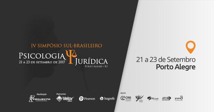 IV Simpósio Sul-Brasileiro de Psicologia Jurídica