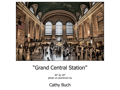 "Grand Central 20"" x 30"" photo on Aluminium"