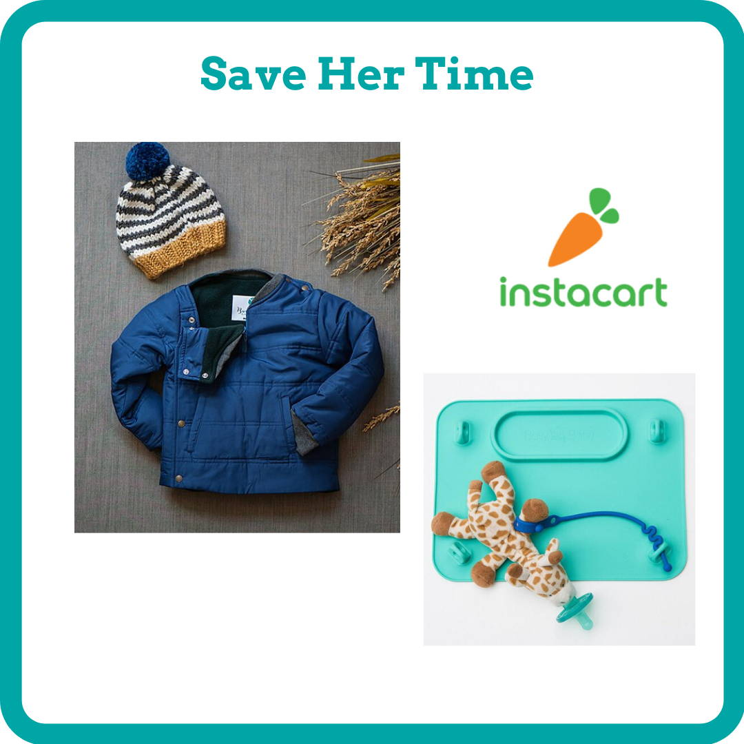 gift ideas for new mom save her time instacart