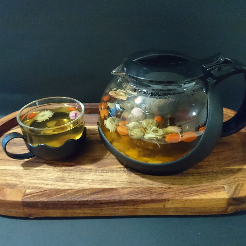 Date: 27 Nov 2019 (Wed) 24th Drink: Asian Beauty Secret: 8 Treasures Tea (Ba Bao Cha) [122] [122.8%] [Score: 10.0]