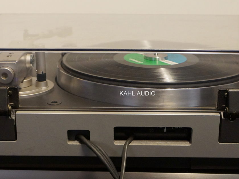 Sony PS-B80 Biotracer direct drive turntable. Fully restored! $1,295 onl